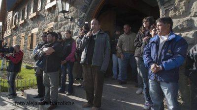 Los municipales de Bariloche van al Centro Cívico por el reclamo salarial