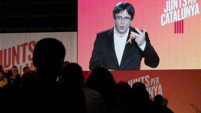 Contra la investidura de Puigdemont