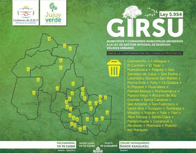 GIRSU, el desafío que convoca a todos los Municipios jujeños