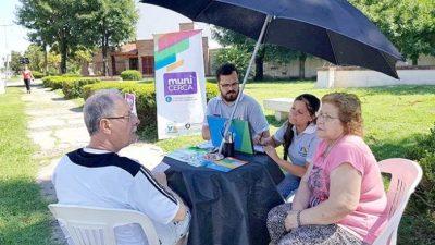 Un MuniCerca se repliega por los barrios de Villa María para alcanzar a mayor cantidad de vecinos