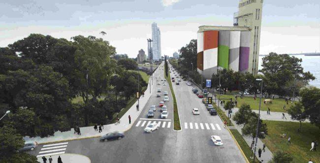 Comienzan las obras de la doble traza en la avenida de la Costa de Rosario