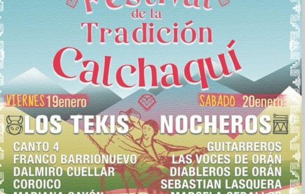 XXVII Festival de la Tradición Calchaquí en Cachi, 19 y 20 de enero