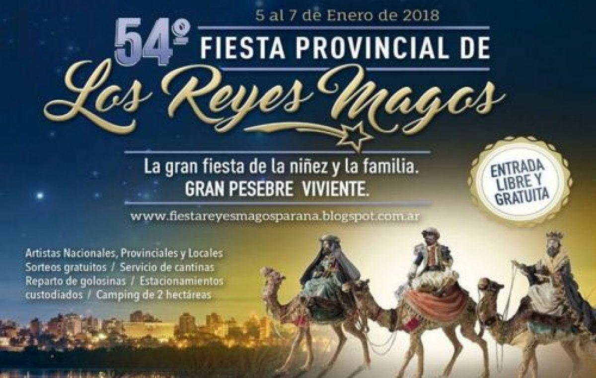 54º Fiesta Provincial de los Reyes Magos en Paraná