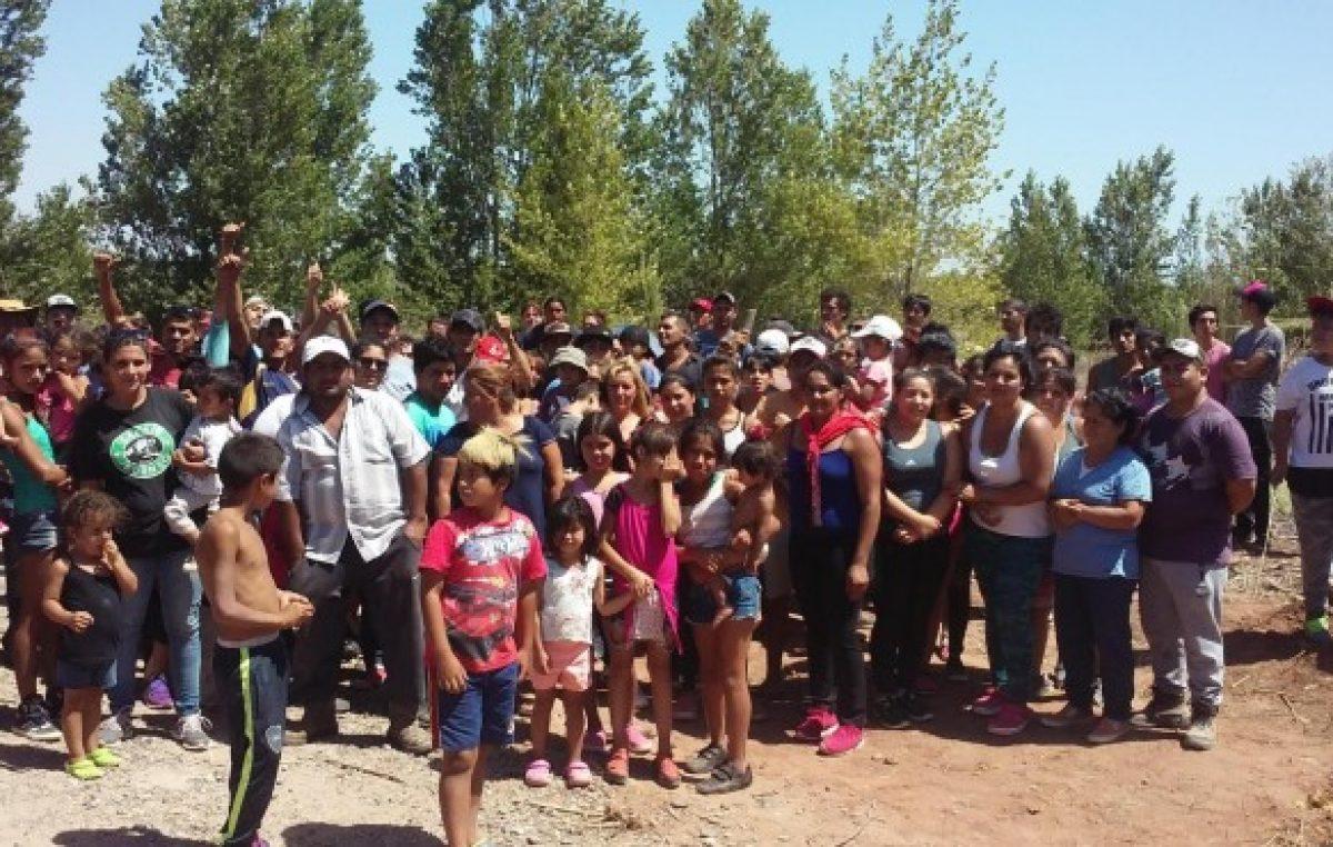 Más de 100 familias usurparon terrenos en Plottier