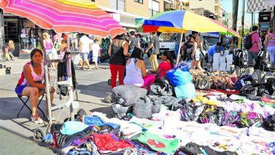 Capacitación para los manteros de Liniers