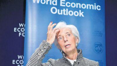 La deuda asusta hasta al FMI