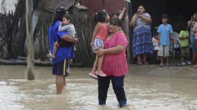 La situación humanitaria es muy compleja por la crecida del río Pilcomayo en Salta