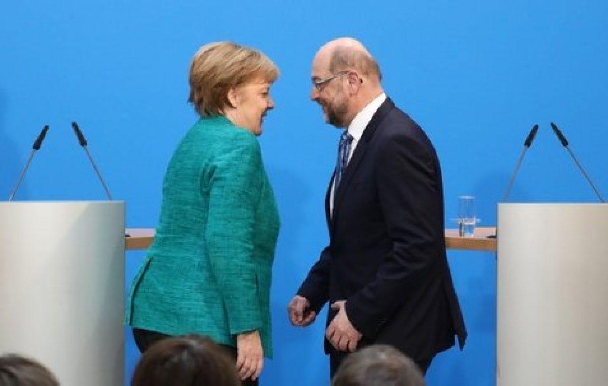Al final Merkel y los socialdemócratas formaron gobierno