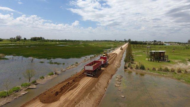 Comuna y provincia mejoran el sistema de bombeo en Melincué