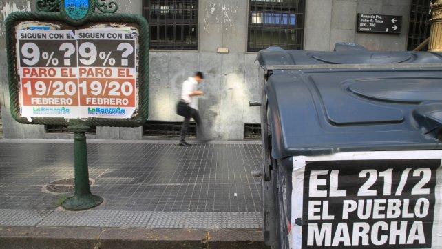 Moyano, junto al kirchnerismo y la izquierda, mide fuerza contra Macri