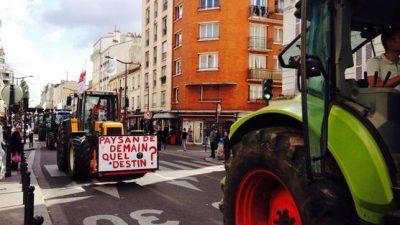Los agricultores franceses temen el TLC entre UE-Mercosur