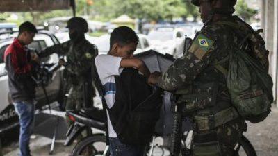 Crean observatorio de Derechos Humanos para controlar acción militar en Rio