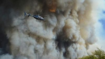 Ya suman más de 600.000 las hectáreas quemadas por los incendios en La Pampa