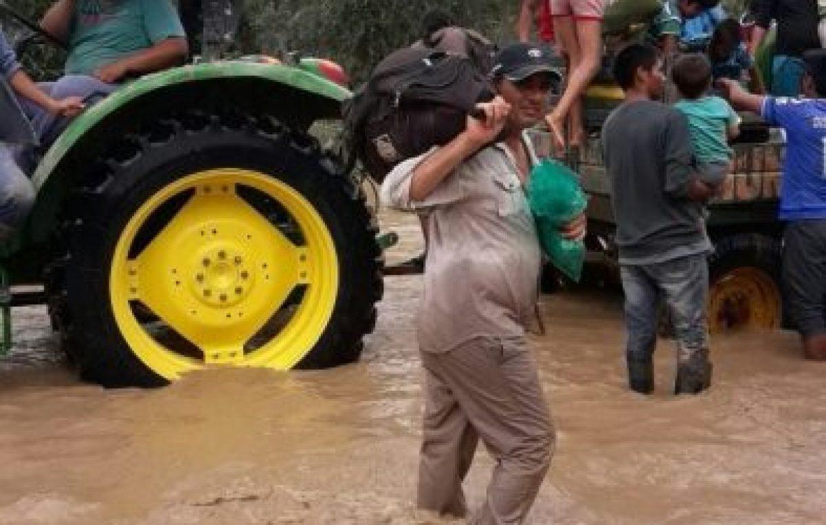 Dramático: es necesario evacuar a 10 mil personas del Pilcomayo