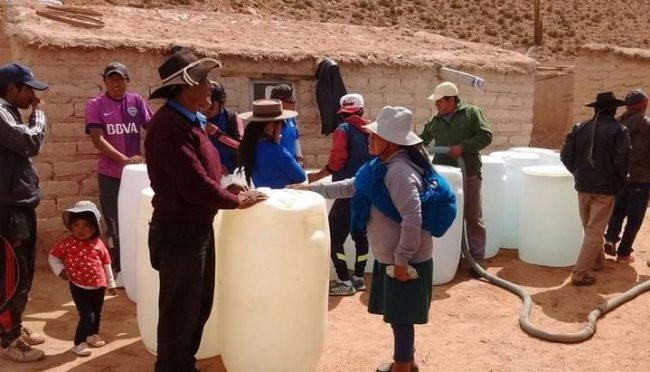 Campo Quijano : Asisten a 49 familias con graves carencias en el paraje El Toro