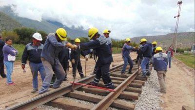 Comenzó tendido de vía del tren Jujuy-La Quiaca
