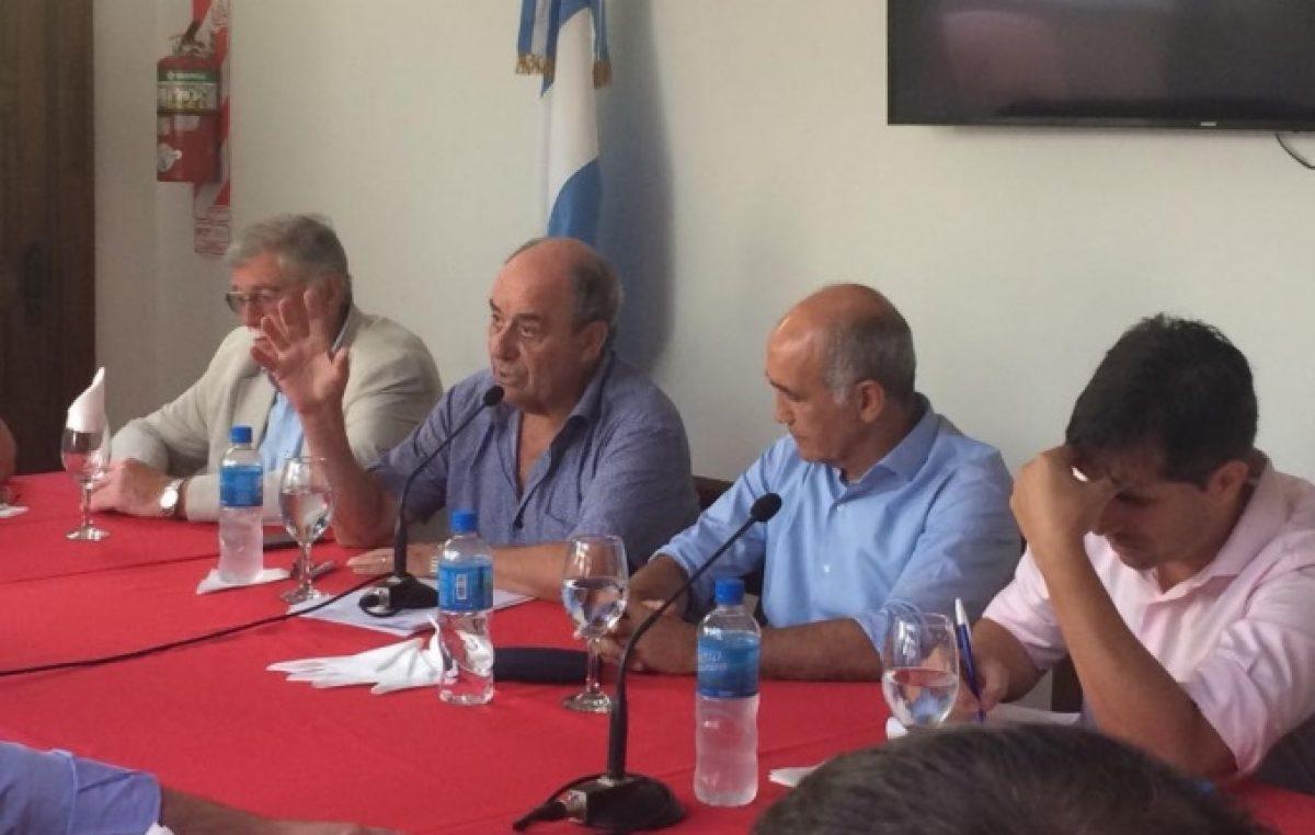 Junto a sus intendentes, la UCR busca cambios en la fórmula para repartir recursos a comunas bonaerenses