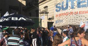 La Provincia de Buenos Aires no se movió del 15 por ciento y los docentes volvieron a rechazar la oferta