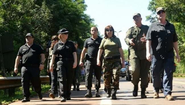 Patricia Bullrich prepara una invasión militar a Rosario