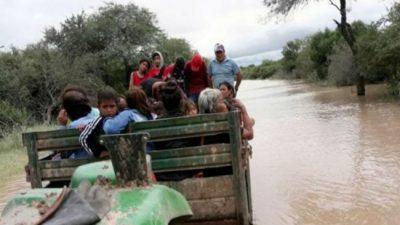 La emergencia bajo el agua