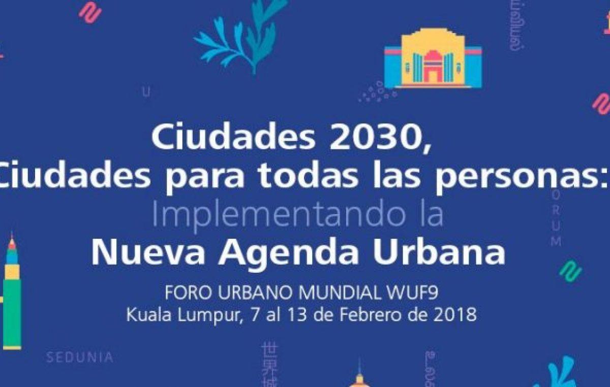 En Malasia, el intendente de Santa Fe participará del Foro Urbano Mundial de la ONU