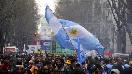 La marcha y los países