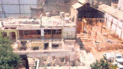 Ciudad de Buenos Aires: Una escuela sin techo