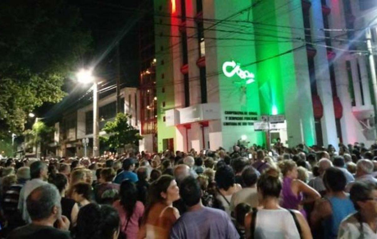 Pueblada en Río Tercero logró parar el aumento de la luz