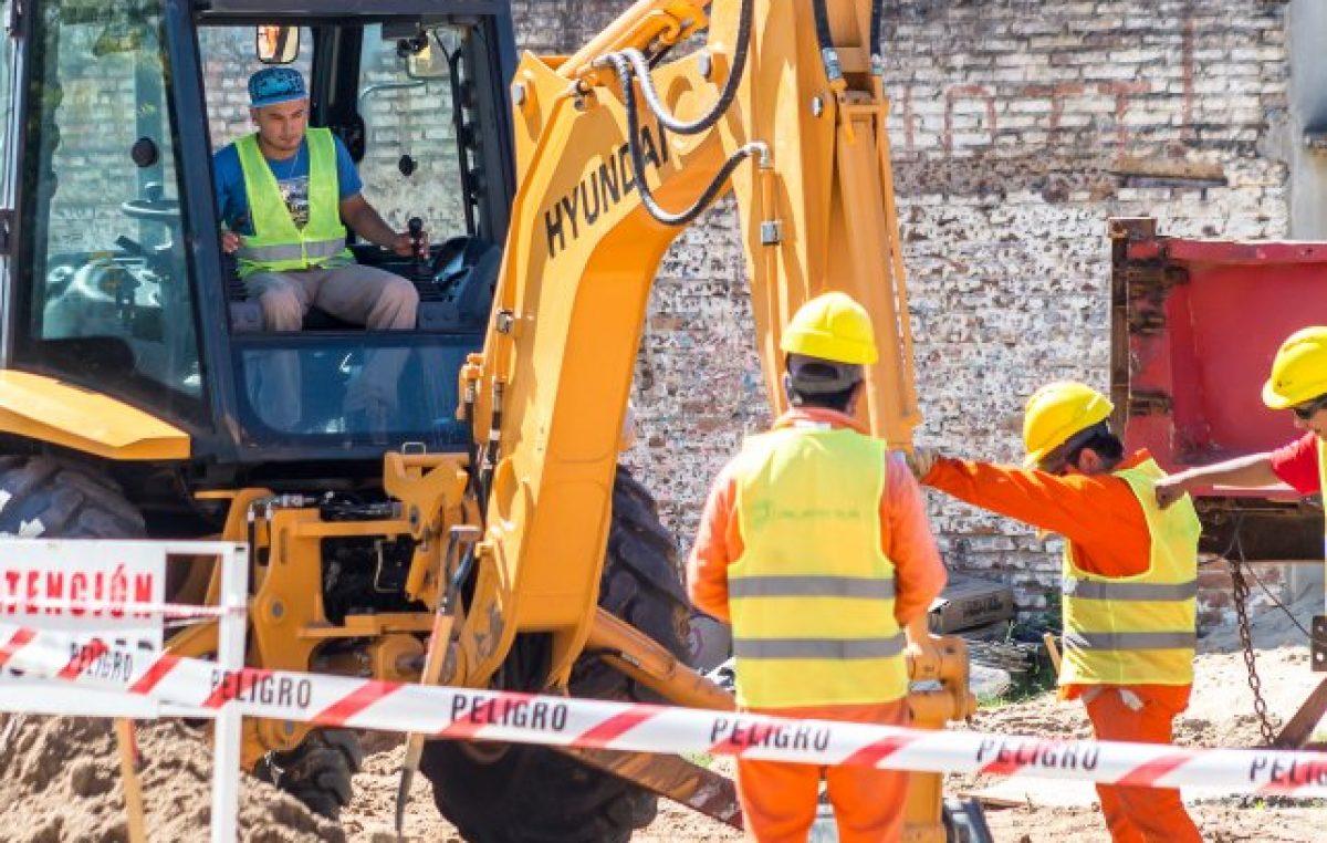 El gobierno provincial impulsa obras de pavimento para municipios y comunas santafesinas
