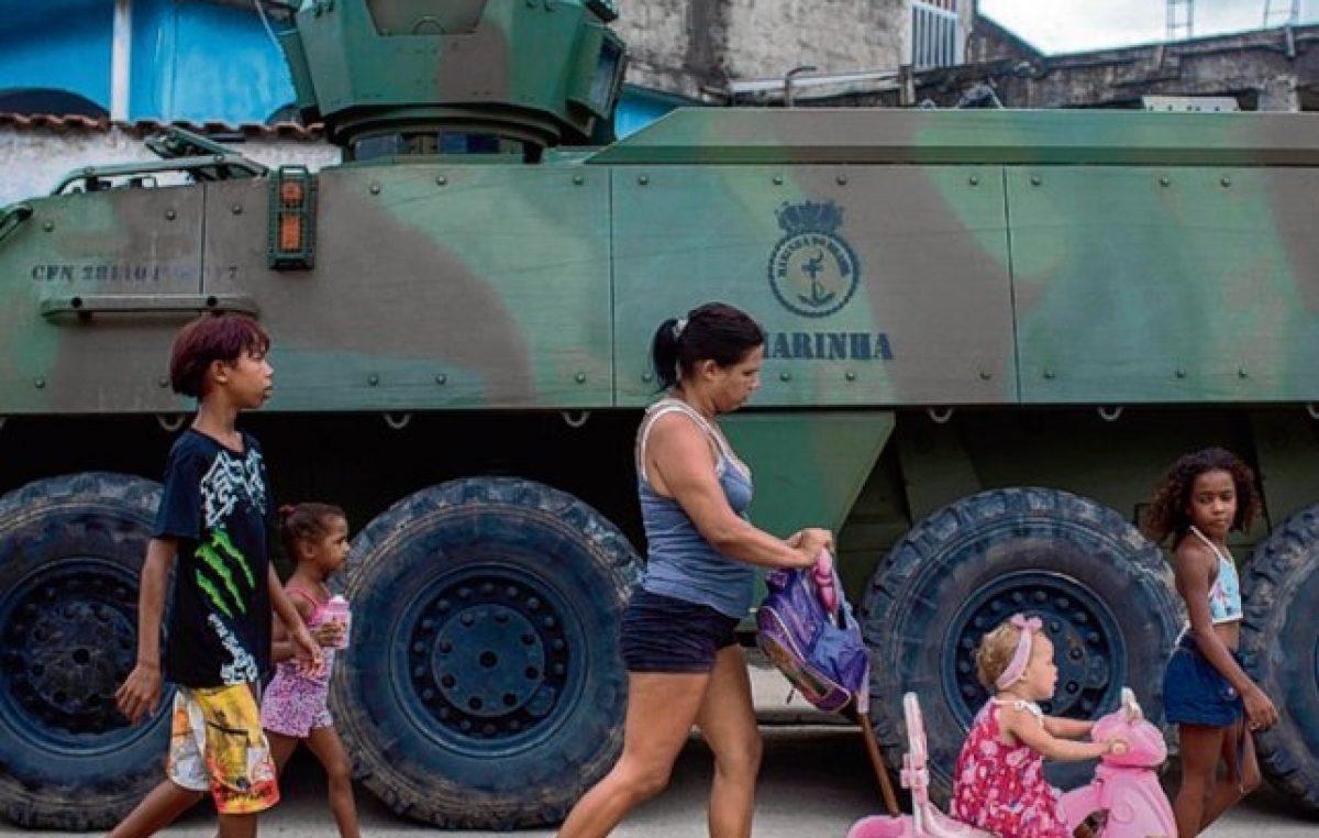 Nueva intervención militar en una favela de Río de Janeiro