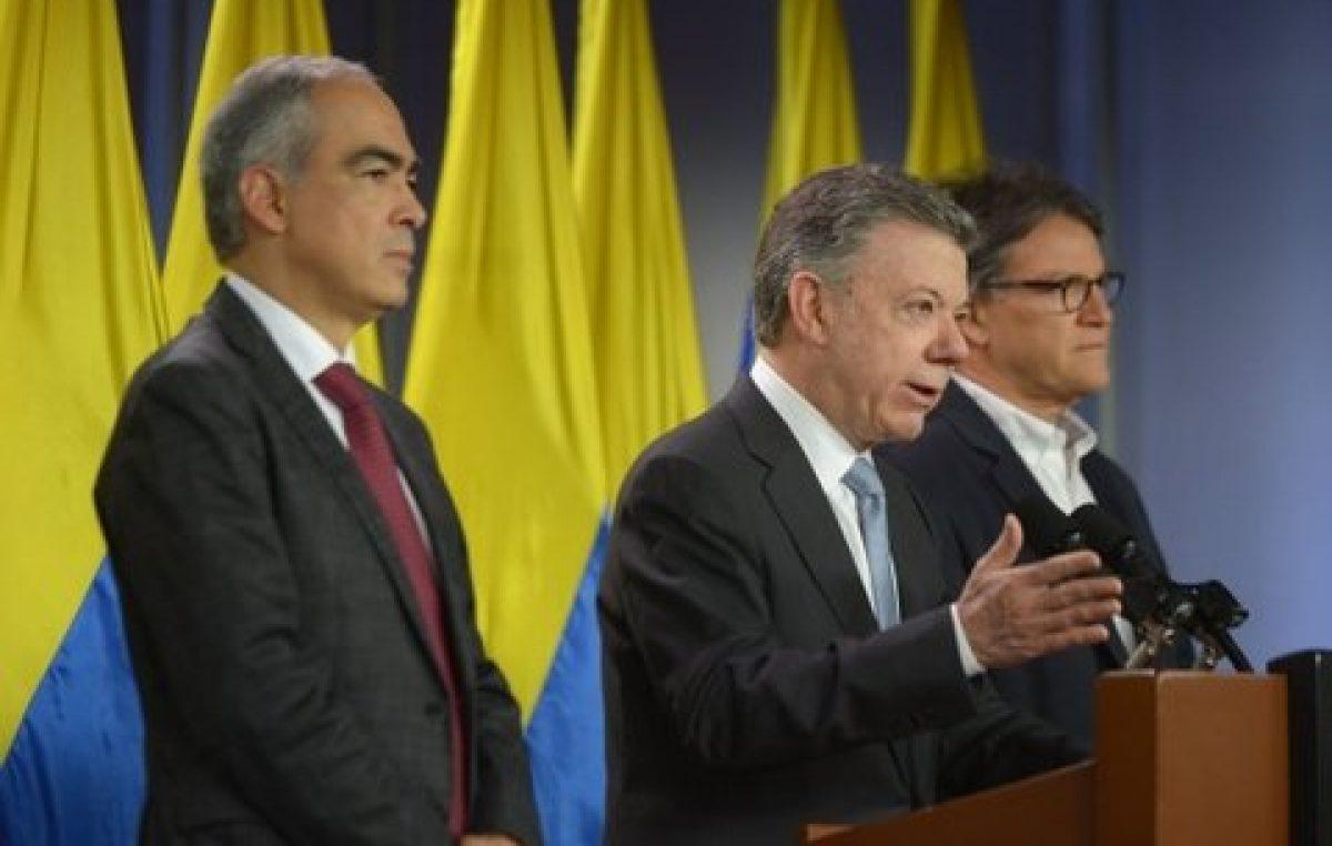 Luego de la derrota electoral, Santos reflotó el diálogo con la guerrilla ELN