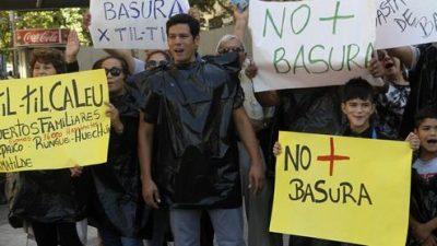 Pequeño pueblo de Chile sostiene lucha contra la basura
