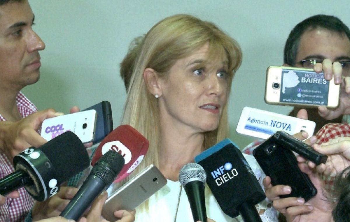La intendenta denunció otra vez que no llegan obras ni nuevos policías a La Matanza