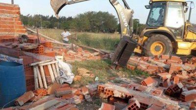 Denuncian que Passaglia ordenó demoler de manera ilegal una escuela de oficios en San Nicolás