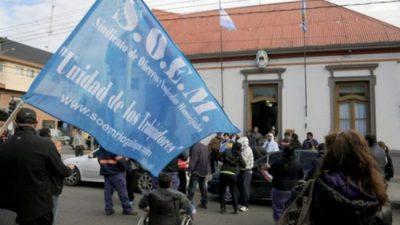 """Desde el SOEM Río Gallegos recuerdan que está vigente la """"clausula gatillo"""""""