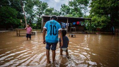 Más de cien parajes siguen aislados en el chaco salteño