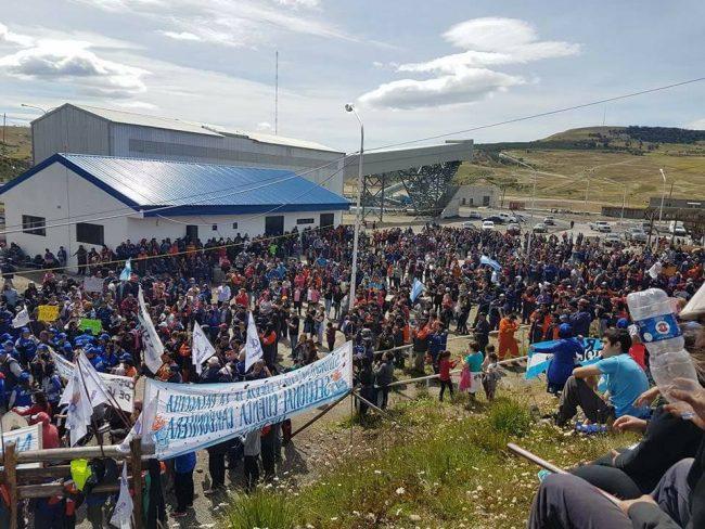 Río Turbio: Una toma para evitar la flexibilización