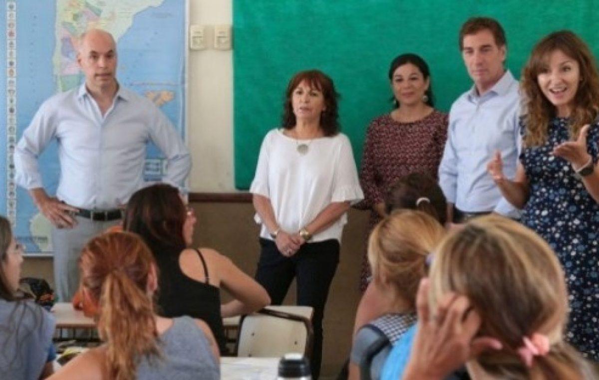 Larreta copió a Vidal y cerró escuelas: más de 500 alumnos sin aulas en CABA