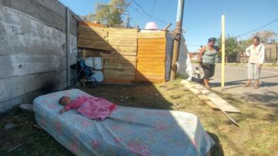 Imágenes desoladoras de la crisis habitacional: el Quilmes que Cambiemos oculta