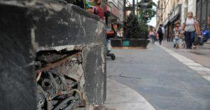 La reparación de la peatonal de Córdoba, el disgusto de los comerciantes