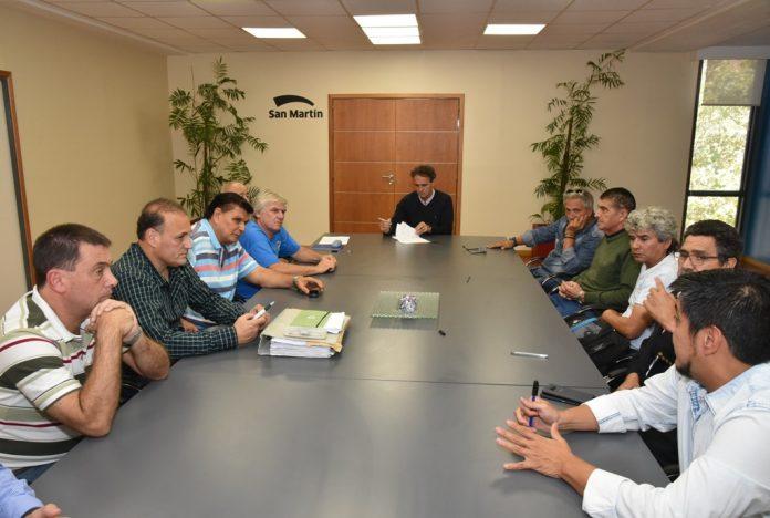 Paritaria 2018: Katopodis acordó un 20% en un solo pago con los municipales de San Martín