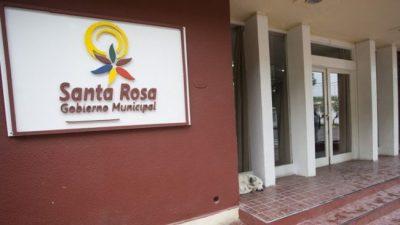 Despidieron a 150 empleados de la municipalidad de Santa Rosa