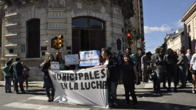 Jerarquizados suspendieron marcha al Municipio de Paraná tras recibir la convocatoria a paritarias