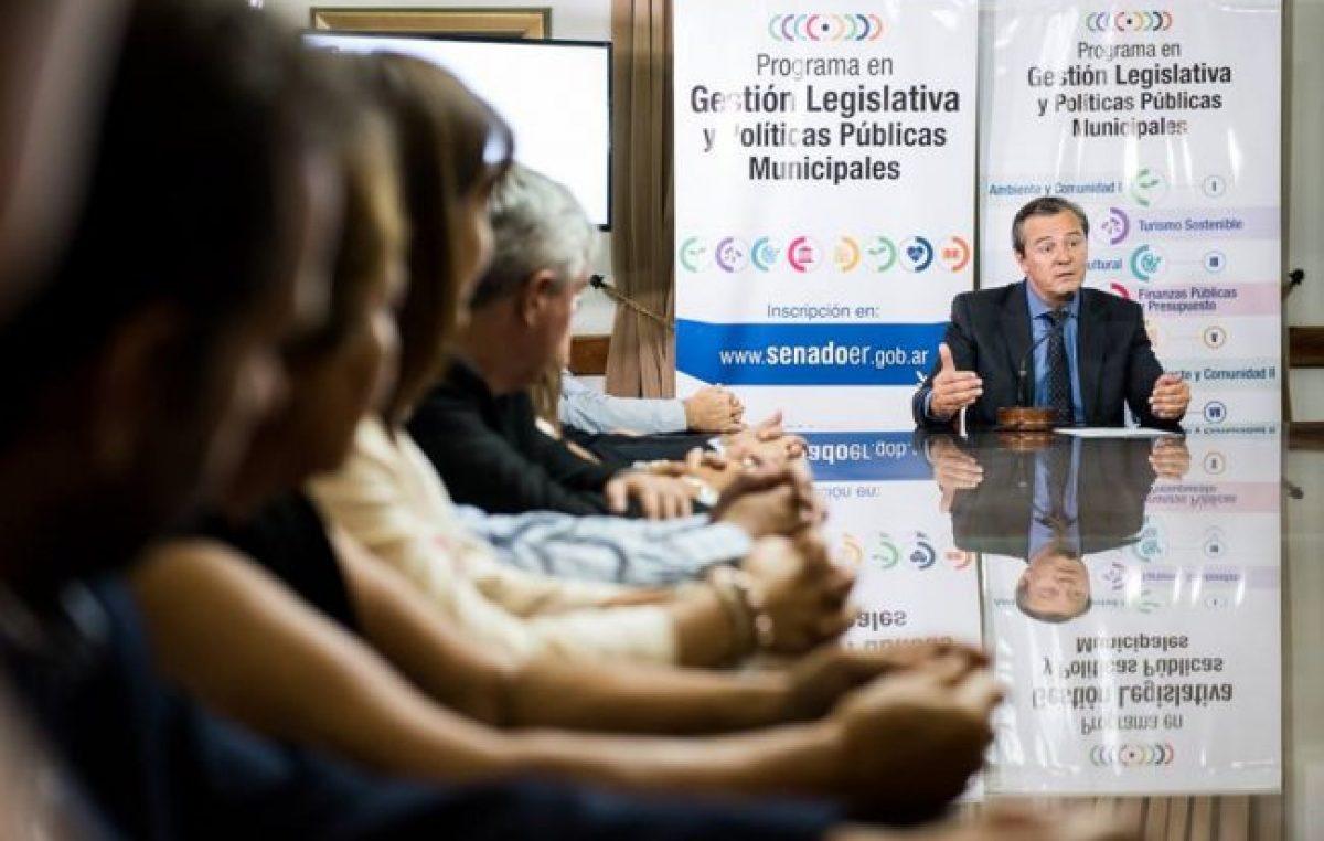 Se presentó la segunda edición del Programa en Gestión Legislativa y Políticas Públicas Municipales en Paraná