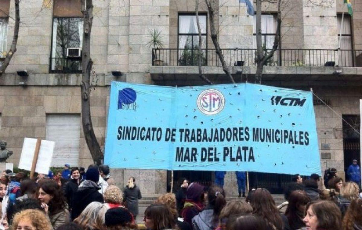 """El Sindicato de Municipales de Mar del Plata le respondió a Vicente: """"Demuestra un total desconocimiento o miente"""""""