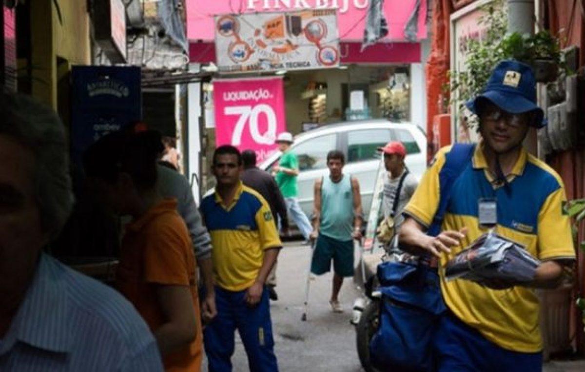 """En Río, el correo cobrará una """"tasa de violencia"""" para entregar encomiendas"""