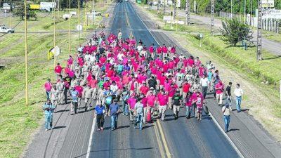 Firmat: Trabajadores de Vassalli cortarán hoy las rutas 33 y 93