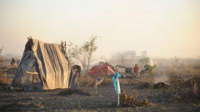 """Tensión por el inminente desalojo de 157 familias de """"Parque Esperanza"""" enJuárez Celman"""