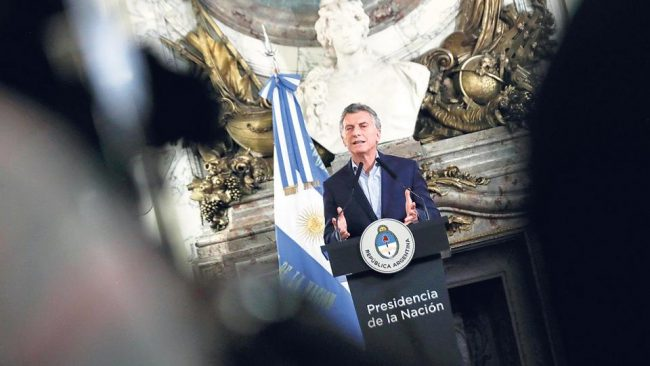 El mundo ideal de Macri