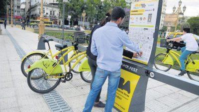 Ciudad de Buenos Aires: Las bicis, a manos privadas